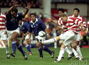 Former Japan skipper Andrew McCormick in action in 1999 (Picture taken from www.jamd.com)